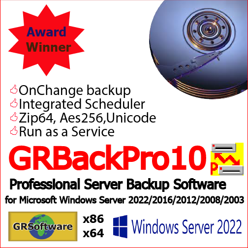 Backup Software for Windows - data backup software for Windows Server